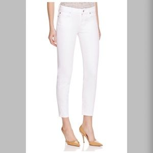 🔥$168 7 For All Mankind Kimmie Crop Skinny Jeans
